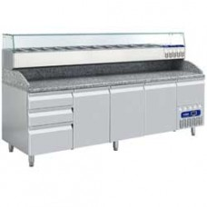 Refrigerated Table Set Consists Of: