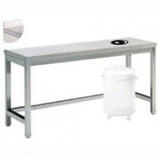 Cleaning And Sorting Table, Waste Op., Edge
