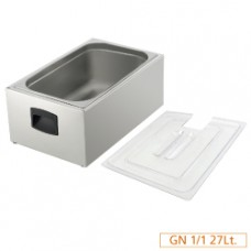 Tank Gn1/1 For Cooker + Lid
