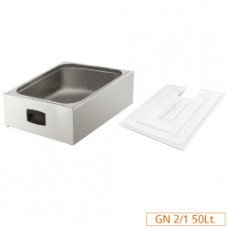 Tank Gn2/1 For Cooker+ Lid