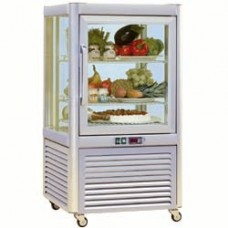 Refrigerated Display 4 Glass Sides - 3 Grids