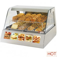 Ventilated Warm Display 2x Gn 1/1