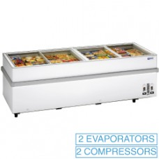 Panoramic Deep Freezer 2 Compressors 1 T°